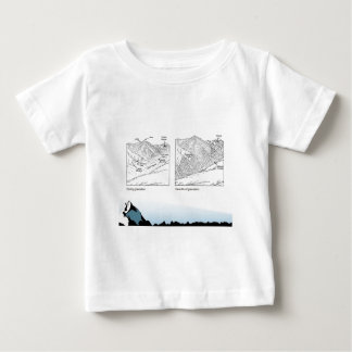 Education, science, Geography, Glaciers Baby T-Shirt