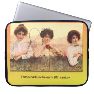 Education, Science, History, Textiles, Tennis Laptop Sleeve