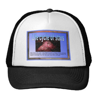 Education, Science, Life cycle of stars Trucker Hat