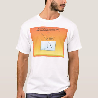 Education, Science, Light, Refraction T-Shirt