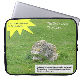 Education, Science, Rock cycle, Time scale Computer Sleeve