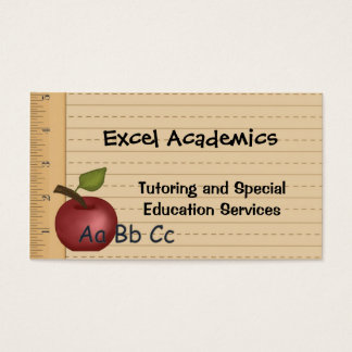 Education Services Business Card