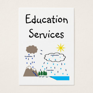 Education Services Business Cards