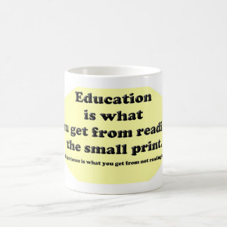 Education Small Print Mug