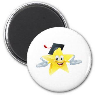 Education star man refrigerator magnets