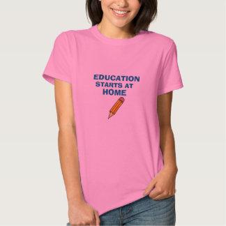 Education Starts at Home Shirt