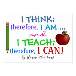 Education Teacher - Business Card by SRF