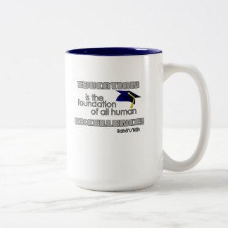 Education Two-Tone Coffee Mug