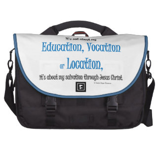 education, vocation and location commuter bags