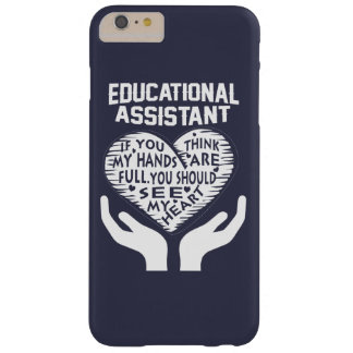 Educational Assistant Barely There iPhone 6 Plus Case
