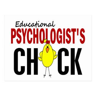 Educational Psychologist's Chick Postcard