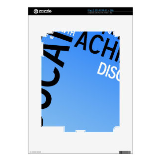 Educational Words Montage iPad 2 Decal