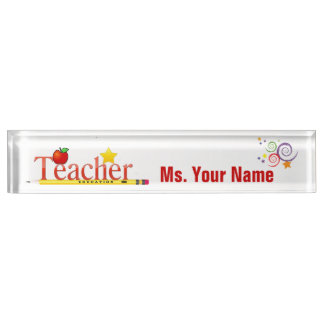 Educator Desk Name Plate