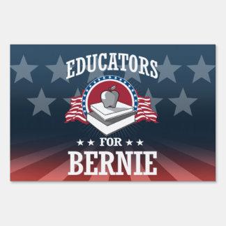 EDUCATORS FOR BERNIE SANDERS LAWN SIGN