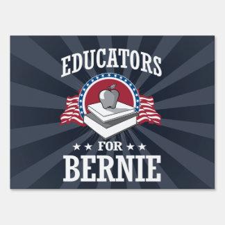 EDUCATORS FOR BERNIE SANDERS SIGN