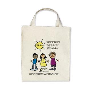 Educators For Obama Grocery Bag