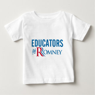 Educators For Romney Baby T-Shirt