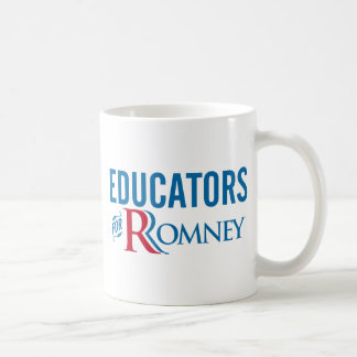Educators For Romney Coffee Mug