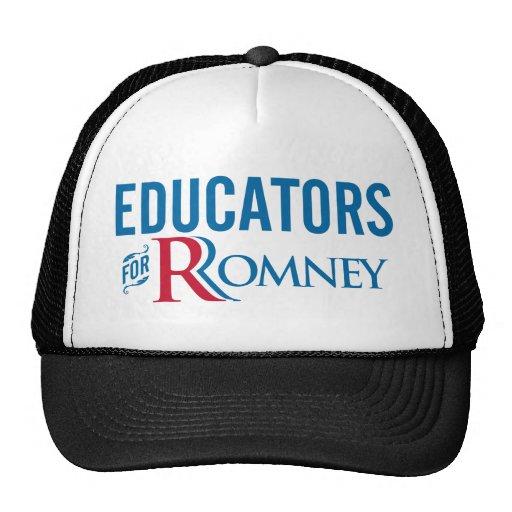 Educators For Romney Trucker Hat