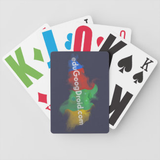eduGoogDroid Playing Card Bicycle Playing Cards