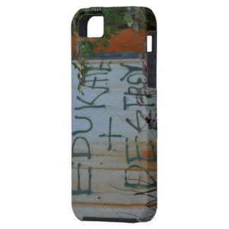 EDUKATE + DESTRUYA iPhone 5 Case-Mate COBERTURA