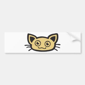 Edulcora gato - Kitty Pegatina Para Auto