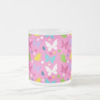 Edulcora taza de mariposa