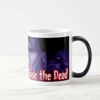 Eduque a los muertos - taza mágica del logotipo