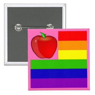 Eduque el botón de la igualdad pin