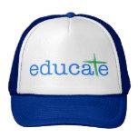 Eduque el gorra de la organización