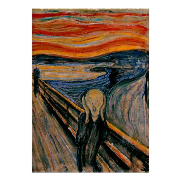 Virginia5050 Edvar Munch - The Scream Poster