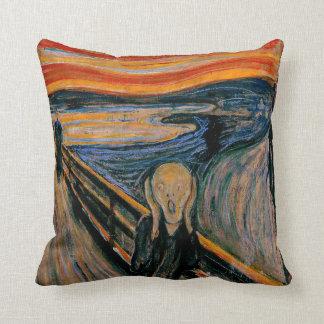 Edvar Munch - The Scream Throw Pillow