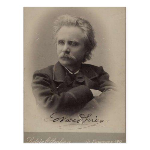 Edvard Grieg Postcard
