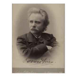 Edvard Grieg Postal