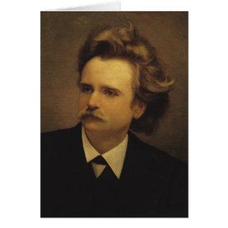 Edvard Hagerup Grieg Card