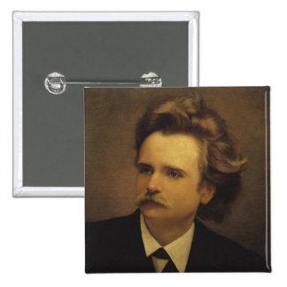 Edvard Hagerup Grieg Pin Cuadrado