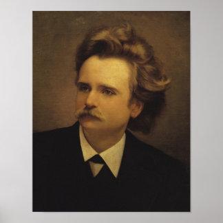 Edvard Hagerup Grieg Póster
