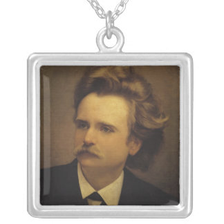 Edvard Hagerup Grieg Silver Plated Necklace