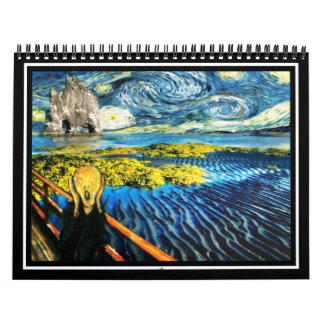 Edvard Meets Vincent Calendar