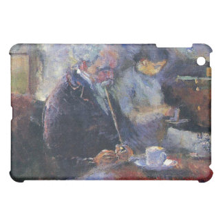 Edvard Munch - At the Coffee Table Painting Cover For The iPad Mini