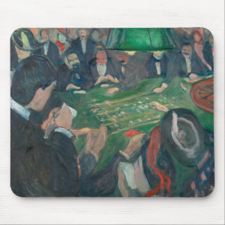 Edvard Munch - At the Roulette Table Mouse Pad