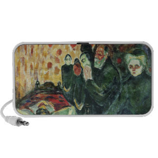 Edvard Munch - By the Death Bed Painting Speakers