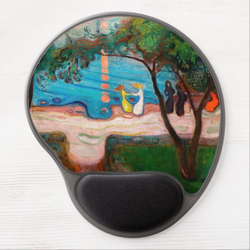 Edvard Munch - Dance on the Beach Gel Mouse Pad