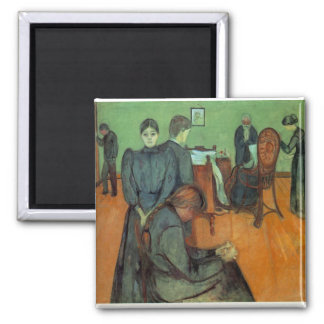 Edvard Munch - Death In The Sickroom 1895 Magnet