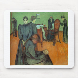Edvard Munch - Death In The Sickroom 1895 Mouse Pad