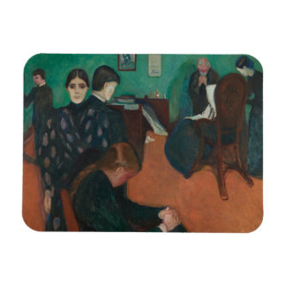 Edvard Munch - Death in the Sickroom Magnet
