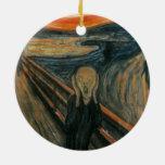 Edvard Munch - el grito Adornos De Navidad