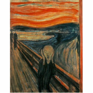 Edvard Munch - el grito Esculturas Fotograficas