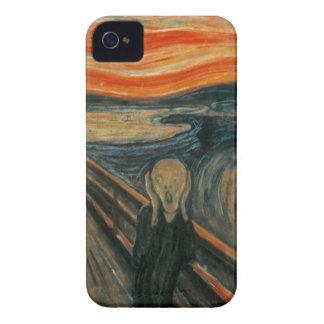 Edvard Munch - el grito iPhone 4 Carcasas