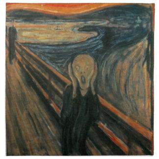 Edvard Munch - el grito Servilleta
